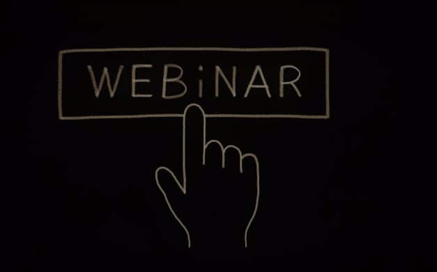 Wecademy tilrettelægger og afholder webinarer til offentlige institutioner